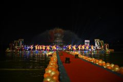 Abhishek & Light show : Dwishatabdi Mahotsav