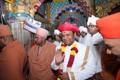 Maharaj shree Agman and ShobhaYatra