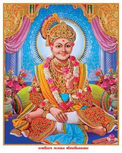 003_Swaminarayan Bhagwan_16 x 20