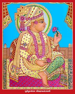 004_Sahajanand Swami_16 x 20