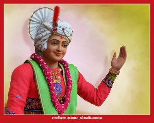 005_Swaminarayan Bhagwan_16 x 20