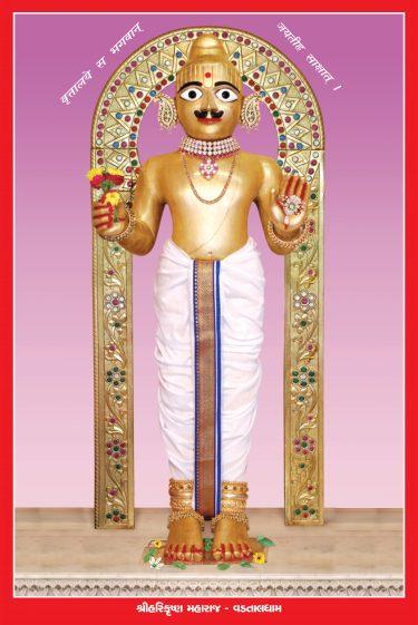 012_Harikrishna Maharaj-Vadtal_16 x 24