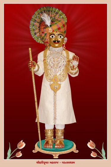 013_Harikrishna Maharaj-Vadtal_16 x 24