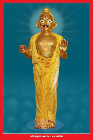 014_Harikrishna Maharaj-Vadtal_16 x 24