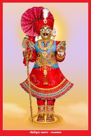 015_Harikrishna Maharaj-Vadtal_16 x 24