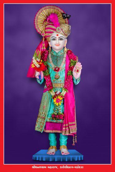 018_Ghanshyam Maharaj-Vadodara_16 x 24