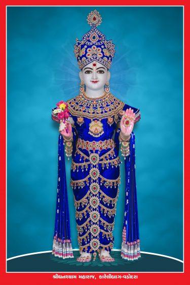 020_Ghanshyam Maharaj-Vadodara_16 x 24