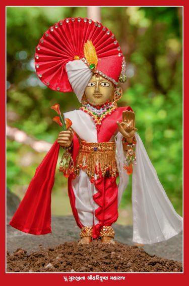 023_Guruji's Harikrushna Maharaj_16 x 24