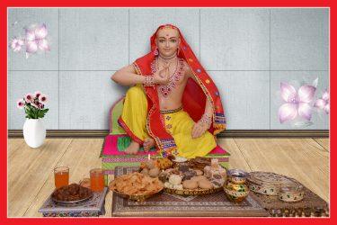 032_Jamta Maharaj Maharaj 16 x 24
