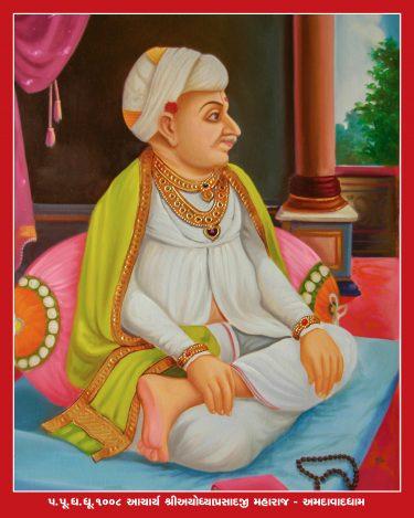 078_Ayodhyaprasadji Maharaj_16 x 20