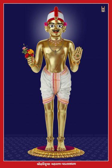 Harikrishna Maharaj Vadtaldham 16x24 (2)