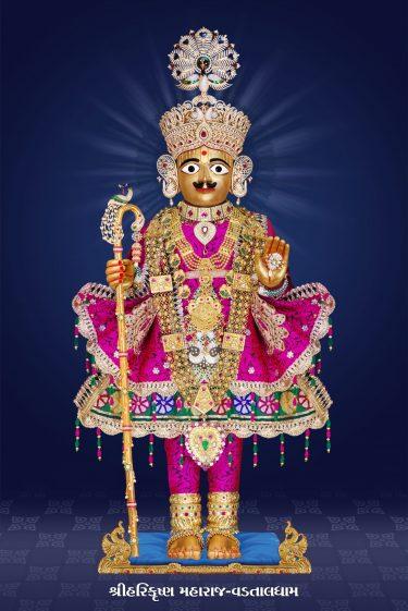 Harikrishna Maharaj Vadtaldham 24x36 (8)