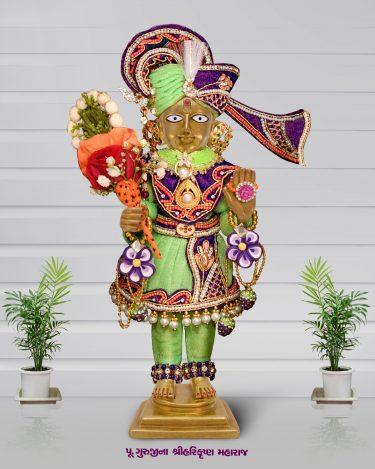 Tapu Maharaj 12 x15 Inches (5)